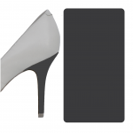 Rock Candy Dark Gray heel wrap
