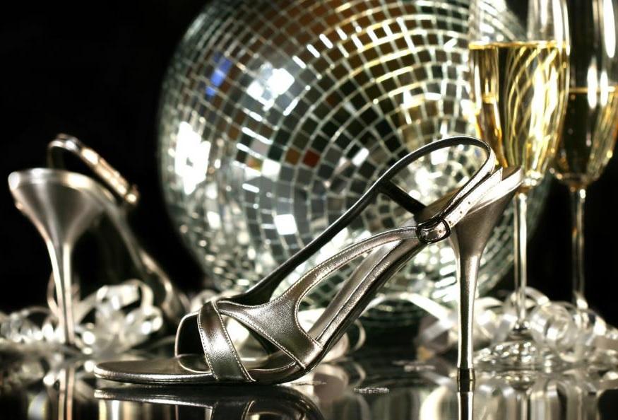 Silver Heels Dress