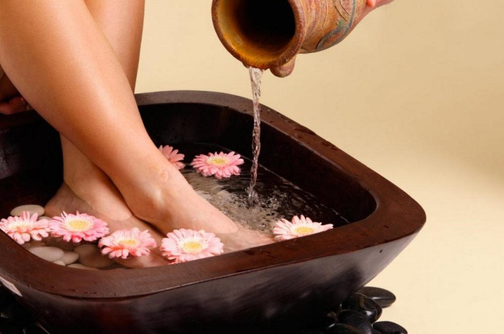 Treating Your Feet Right Soak them up