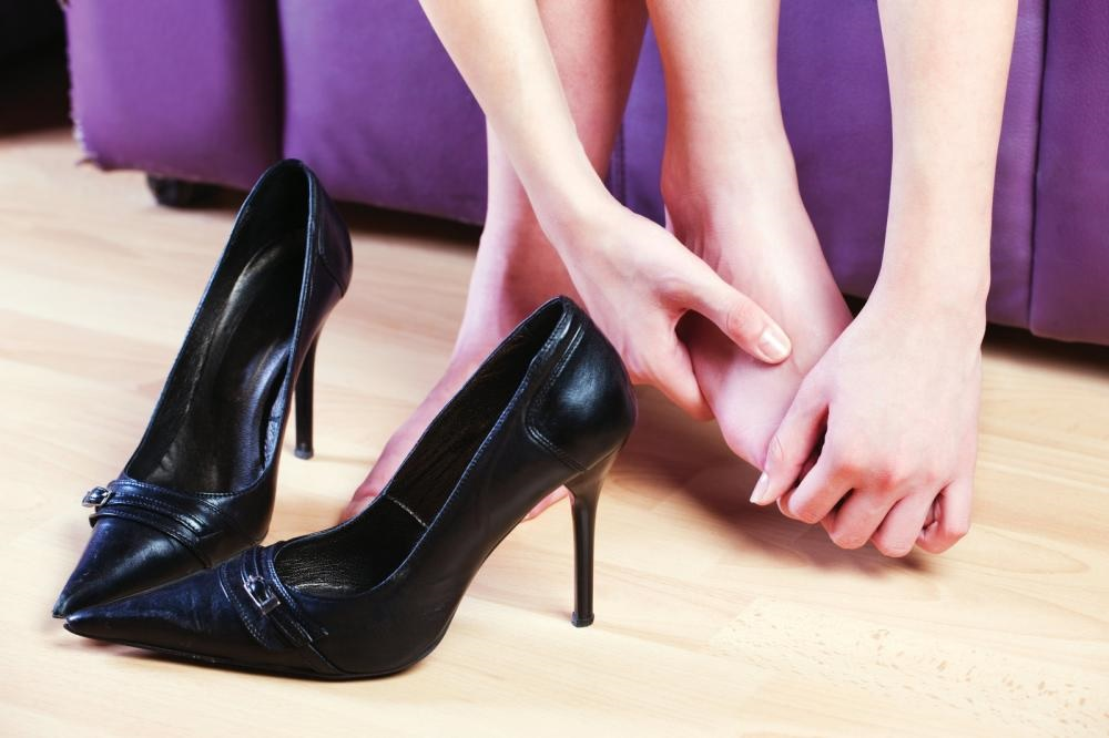 High Heel Sore Feet